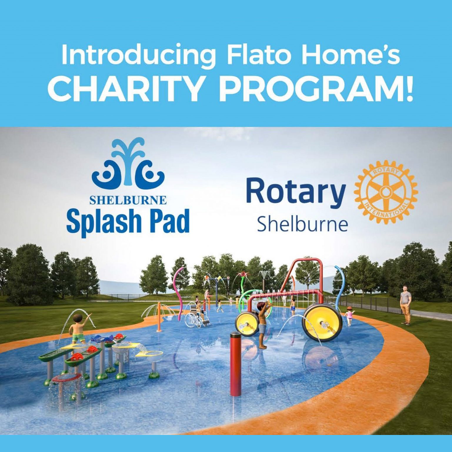 Help us raise money for the Shelburne Splash Pad